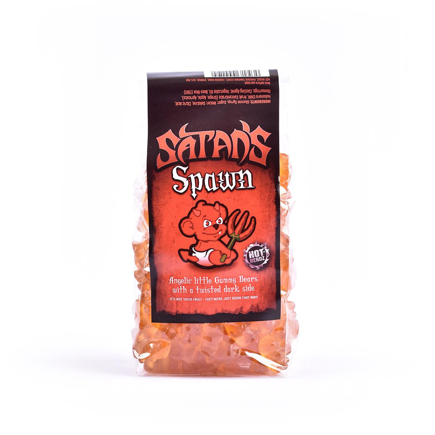 Satan's Spawn Spicy Gummy Bears - Heatsupply