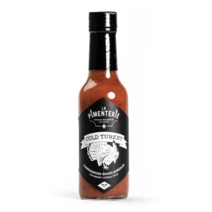La Pimenterie Cranberry & Boreal spices hot sauce Cold Turkey