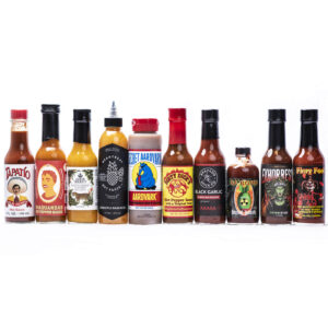 foto van sauzen uit Hot Ones Youtube show