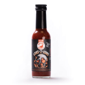 image of karma ashes 2 ashes hot sauce