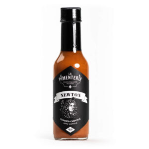 La Pimenterie Apple Chipotle hot sauce Newton
