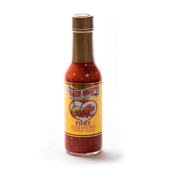 Marie Sharp's Fiery Hot sauce