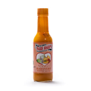 Marie Sharp's Mango hot sauce