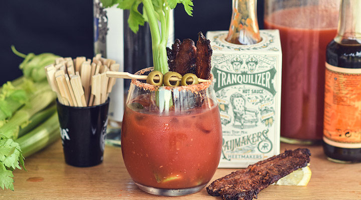Zo maak je thuis een perfecte Spicy Bloody Mary cocktail