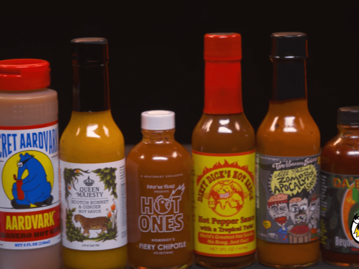 The full list of Hot Ones sauces from all seasons of the show