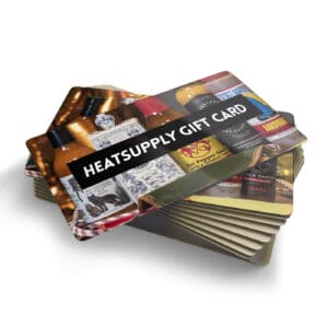 image of a fictive hot sauce gift card by heatsupply